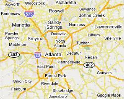 Map Of Georgia Cities Around Atlanta Georgia Map - Map of georgia cities around atlanta